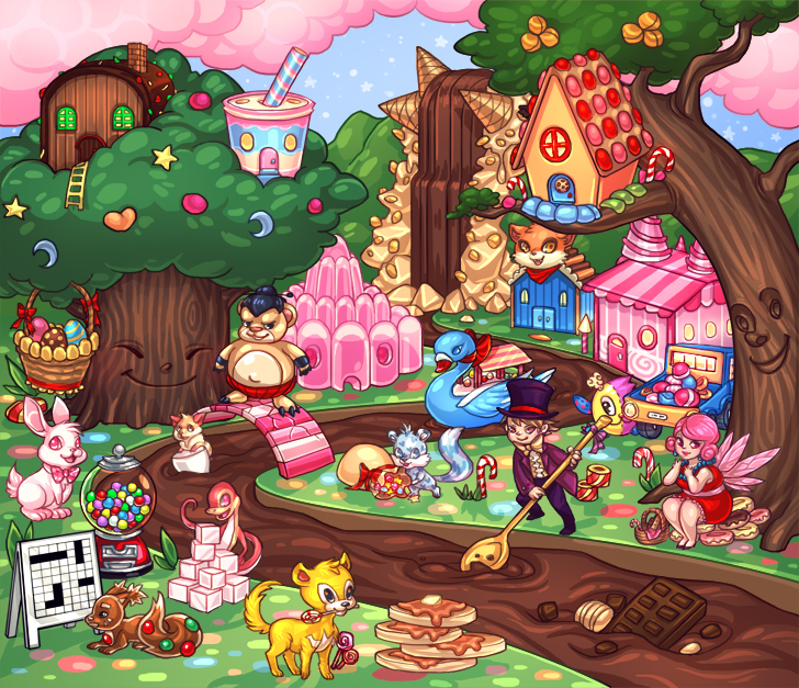 places in candyland