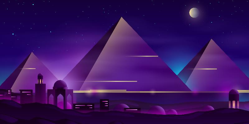 Slate Pyramid