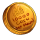 Fake Ten Thousand Dukka Coin