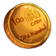 Fake One Hundred Dukka Coin