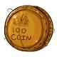 One Hundred Dukka Coin Plushie