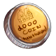 Fake Two Thousand Dukka Coin