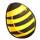 Bee Easter Egg