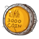 Three Thousand Dukka Coin Plushie