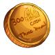 Fake Three Hundred Dukka Coin