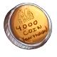 Fake Four Thousand Dukka Coin