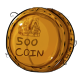 Five Hundred Dukka Coin Plushie