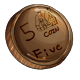 Fake Five Dukka Coin