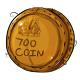 Seven Hundred Dukka Coin Plushie