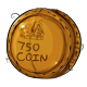 Seven Hundred and Fifty Dukka Coin Plushie