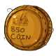 Eight Hundred and Fifty Dukka Coin Plushie