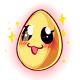 Anime Glowing Egg