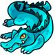 Aqua Crikey Plushie