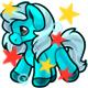 Enchanted Aqua Gonk Plushie