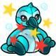 Enchanted Aqua Newth Plushie