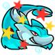 Enchanted Aqua Paffuto Plushie
