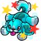 Enchanted Aqua Rusty Plushie