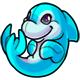 Aqua Zoosh Plushie
