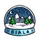 Biala Snow Globe