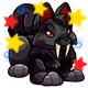 Enchanted Black Bolimo Plushie