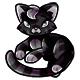 Black Chibs Plushie