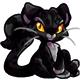 Black Figaro Plushie
