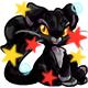 Enchanted Black Figaro Plushie