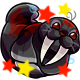 Enchanted Black Flab Plushie
