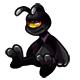 Black Huthiq Plushie