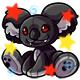 Enchanted Black Reese Plushie