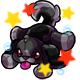 Enchanted Black Rusty Plushie