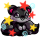 Enchanted Black Snookle Plushie