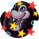 Enchanted Black Zoosh Plushie