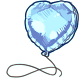 Blue Foil Balloon