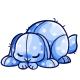 Blue Polka Dot Bunny Plushie