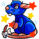 Enchanted Blue Basil Plushie
