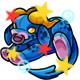 Enchanted Blue Daisy Plushie