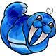 Blue Flab Plushie