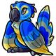 Blue Pucu Plushie