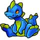 Blue Zetlian Plushie