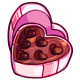 Box of Heart Chocolates