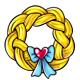 Braided Rapunzel Wreath