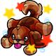 Enchanted Brown Rusty Plushie