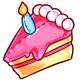 Cake Slice Plushie