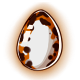 Calico Glowing Egg