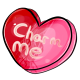 Charm Me Candy Heart
