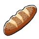 Crusty Poppy Bread