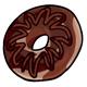 Dark Chocolate Doughnut