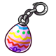Easter Egg Key Chain