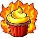 Fire Fairy Cupcake